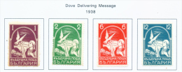 BULGARIA  -  1938  Air Stamps  Mounted Mint - 1909-45 Kingdom