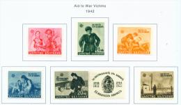 BULGARIA  -  1942  War Invalids  Mounted Mint - 1909-45 Kingdom
