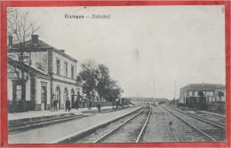 57 - RIXINGEN - RECHICOURT Le CHATEAU - Bahnhof - Gare - Feldpost - Voir Cachet - Rechicourt Le Chateau