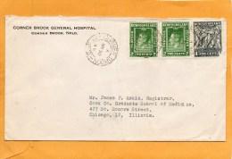 Newfoundland 1946 Cover Mailed To USA - 1908-1947