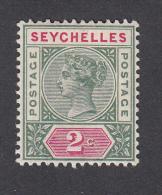 Seychelles 1890  2c  SG1  MH - Seychelles (...-1976)