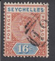 Seychelles 1890  16c  SG6  Used - Seychelles (...-1976)