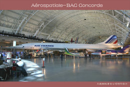 [ T10-071 ]  Supersonic Aérospatiale-BAC Concorde Aircraft Airplane  , China Pre-stamped Card, Postal Stationery - Concorde