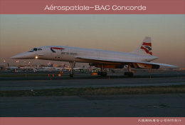 [ T10-075 ]  Supersonic Aérospatiale-BAC Concorde Aircraft Airplane  , China Pre-stamped Card, Postal Stationery - Concorde