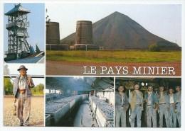 Cpsm: 59 LEWARDE Centre Historique Minier, Le Pays Minier (Multivues) - Other Municipalities