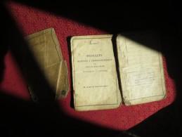 Livret Individuel CLASSE 1906- VOIR PHOTOS ET TAMPONS - Documents