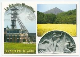 Cpsm: 59 LEWARDE Centre Historique Minier, Le Bassin Houiller Du Nord Pas De Calais (Multivues) - Other Municipalities