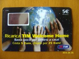 SCHEDE TELEFONICHE - TELECARTE - TELETARJETA TELEFONICA RICARICA GSM TIM  41 - [2] Sim Cards, Prepaid & Refills