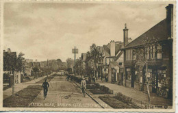 HERTS - LETCHWORTH - STATION ROAD - ANIMATED Ht174 - Hertfordshire