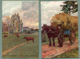 """The Yorkshire Moors Set Of 6 Raphael Tuck """"Oilette"""" Postcards 1906 (oo-34) - Other"""