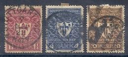 140012130  ALEMANIA    YVERT  Nº  214/217/218 - Alemania