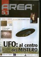 AREA 51 N.1 UFO AL CENTRO DEL MISTERO CERCHI NEL GRANO AREA 51 JOHN LENNON - Libri, Riviste, Fumetti