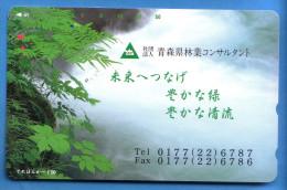 Japan Japon Télécarte Telefonkarte  Phonecard Nr. 110  - 187 - Vulkane