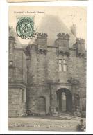 Cp, 08, Grandpré, Porte Du Château, Voyagée 1907 - Sonstige Gemeinden