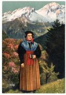 CP, FOLKLORE, COSTUME DE SAVOIE, Maurienne, Vierge, Ed : A. COLLOMB - Costumes