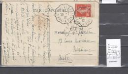 Lettre Cachet Convoyeur Lyon Saint Paul à L'Arbressel - Postmark Collection (Covers)