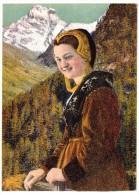 CP, FOLKLORE, COSTUME DE SAVOIE, Tarentaise, Ecrite, Ed : A. COLLOMB - Costumes