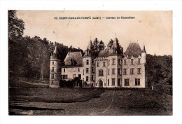 Saint-Romain D'Urfé Vue Sur Le Chateau De Gennetines Genetines Canton Saint Just En Chevalet Ecrite En 1934 - Other Municipalities