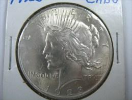 US USA 1 ONE PEACE  DOLLAR  1923 SILVER  GRADE CHICE BU  . LOT 4 - Émissions Fédérales