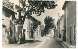 CPSM 84 SERIGNAN COURS JEAN HENRI FABRE Jolie Vue Petit Format - Francia