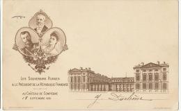 Alliance Franco Russe Visite Tsar Nicolas II 18/9/01 Tsarine  Compiegne Oise Emile Loubet - Russia