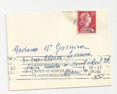 Marque Linéaire ORAN Algérie Sur Marianne De Muller YT1011C - Cachets Manuels