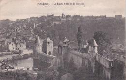 CPA Fougères - La Haute Ville Et La Château - Vers 1930 (2663) - Fougeres
