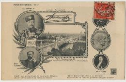 Alliance Franco Russe Visite Tsar Alexandre III Sadi Carnot Felix Faure Bridge - Russia