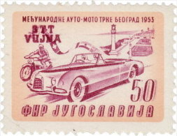 Triestre 1953 ~ YT 80**  - Rallye Automobiles - Autres - Europe