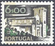 PORTUGAL 1972/5 6$ MONUMENTS - 1910-... Republic