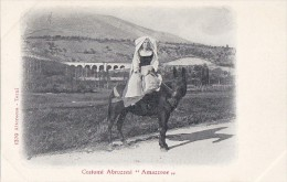 Italie - Costumi Abruzzesi Amazzone - Mulet - Italy