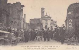 Evènements - Histoire - Militaria - Président Loubet  - Roi Italie Victor Emmanuel III - Réceptions