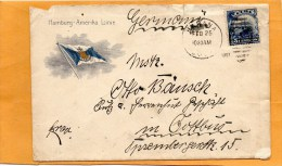 Cuba 1907 Cover Mailed To Germany - Brieven En Documenten