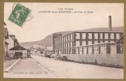 LES VOSGES -- LAVELINE Devant BRUYERES - Un Coin De L' Usine - Voyagée 1913 - USINE - France