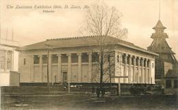 SAINT LOUIS   LOUISIANA EXIBITION 1904      FISHERIES    ARCHITECTURE - St Louis – Missouri