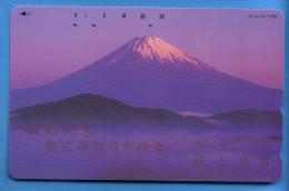 Japan Japon Télécarte Telefonkarte  Phonecard Nr. 110  -  259  Berg Vulkan - Vulkane