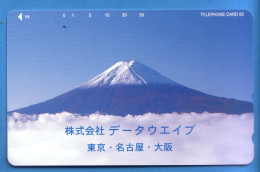 Japan Japon Télécarte Telefonkarte  Phonecard Nr. 110  -  268  Berg Vulkan - Vulkane
