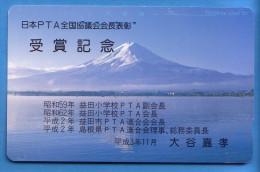 Japan Japon Télécarte Telefonkarte  Phonecard Nr. 110  -  435  Berg Vulkan - Vulkane