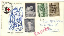 VATICANO - 1964 - PAULUS VI MISSIONARIUS APOSTOLICUS - FDC - Viaggiata Con Espresso - FDC