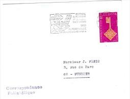 EUR68-L11 - FRANCE Flamme Commémorative FESTIVAL DU FOLKLORE ALFORTVILLE 1968 - Kostüme