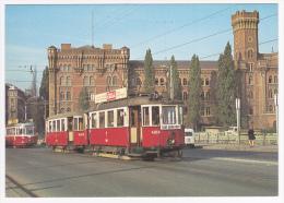 Wiener Stadtwerke - Strassenbahn-Triebwagen Type M - Erstes Baujahr : 1927 Wagen 4004, Linie 231 - Tramways