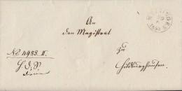 Brief Meiningen 29.6.1853 Gel. Nach Hildburghausen - Deutschland