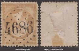 *RARE* GC 4686 (Blangy-sur-Ternoise, Pas-de-Calais (61)), Cote 45€ - 1849-1876: Klassieke Periode