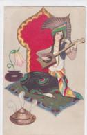 CARD CHIOSTRI ART DECO DONNINA ORIENTALE    CASA EDITRICE BALLERINI... N°211(COME DA SCANNER) -FP-V-2- 0882-20186 - Andere Illustrators