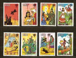 Belize 1980 Yvertn° 495/502 *** MNH Cote 27,50 Euro Année De L' Enfant - Belize (1973-...)
