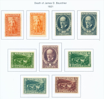 BULGARIA  -  1921  James Bourchier  Mounted Mint - 1909-45 Kingdom