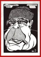 BREJNEV - Socialisme à Visage Humain  Par  LARDIE Illustrateur Satirique ( Spécimen Presse ) - Lardie