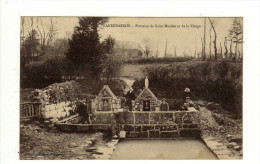 Cpa LANDEBAERON Fontaine De Saint Maudez Et De La Vierge - France