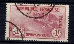 France Orphelins YT N° 154 Oblitéré. Très Beau Timbre. A Saisir! - Usati