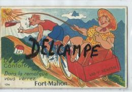 Carte à Systéme - Du Tout Confort! Dans La Remorque Vous Verrez Fort-Mahon - Vas-y Nénesse - Saint Valery Sur Somme